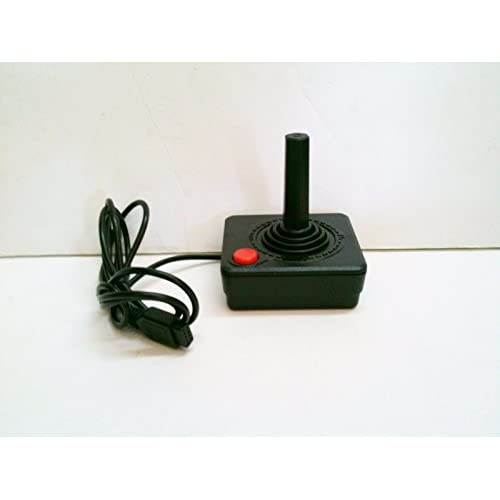 Joystick Controller For The 2600 Console System For Atari Vintage Black Gamepad