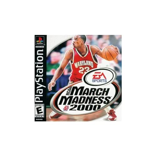 NCAA March Madness 2000 For PlayStation 1 PS1 Basketball