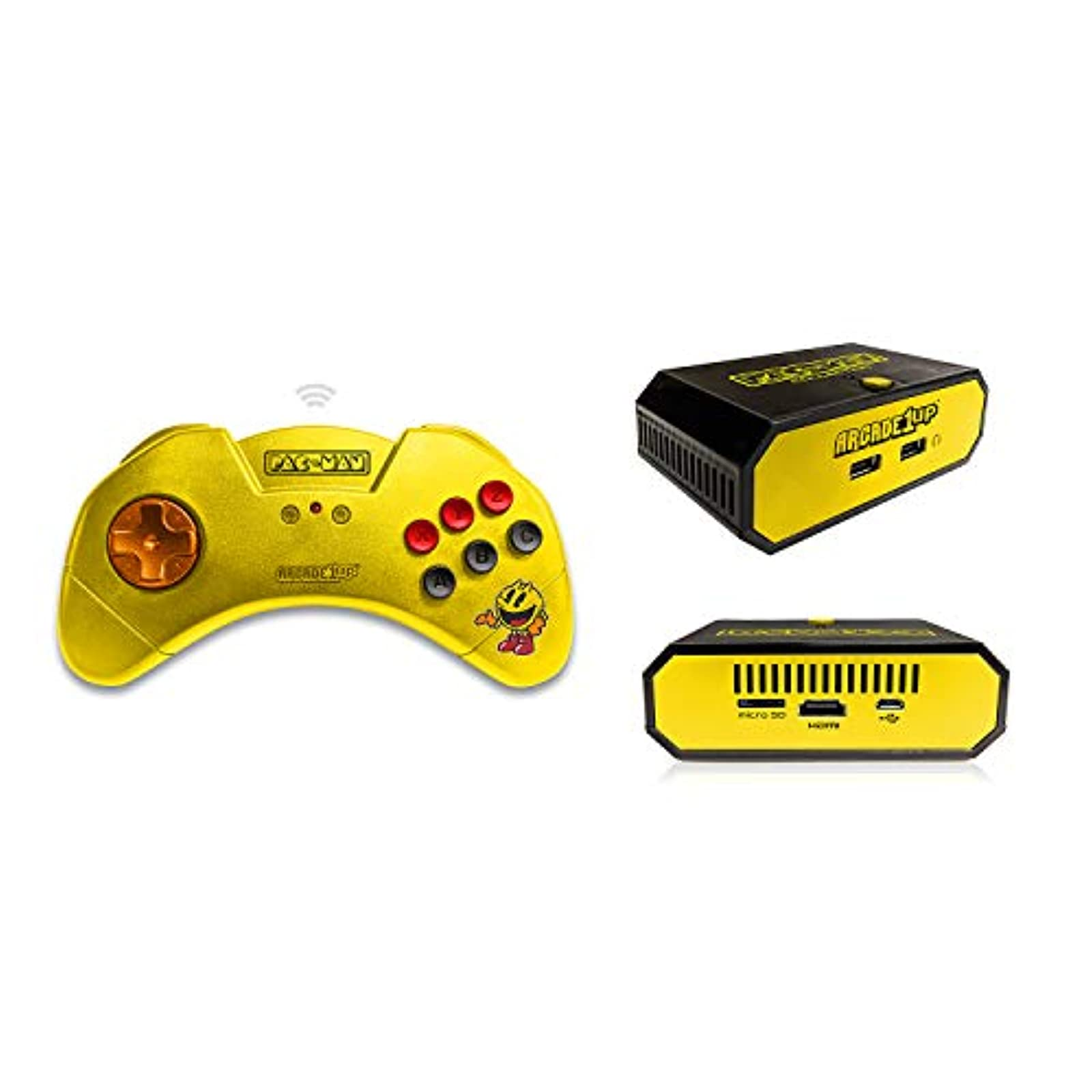 Arcade 1UP Pac-Man HDMI Game Console With Wireless Controller Includes 10 Games!