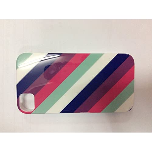 iConcepts Hardshell Case For iPhone 4 4S Diagonal Stripes Design