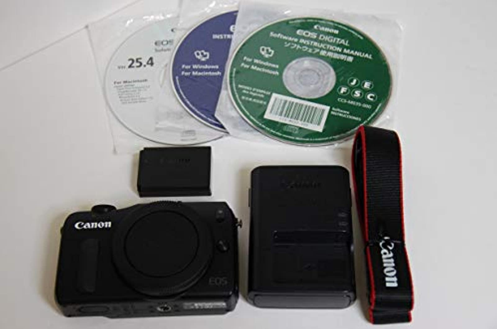 Canon EOS M Compact System Camera Black Body Only Digital
