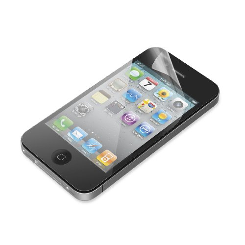 Image 2 of Belkin Clear Screen Protector For Apple iPhone 4 / 4S 3-pack
