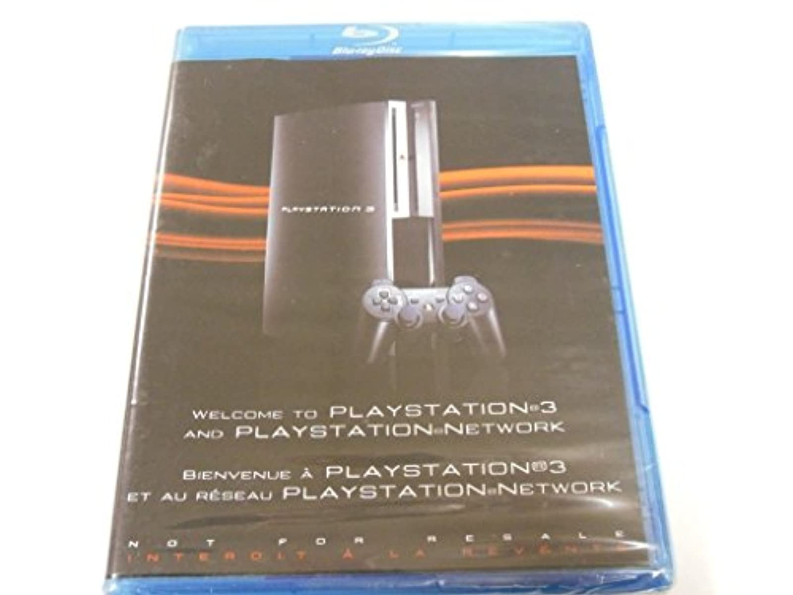 Welcome To Playstion 3 PS3 And Playstion Network Blu Ray