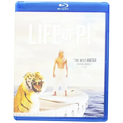 Life Of Pi On Blu-Ray With Khan Irrfan Drama