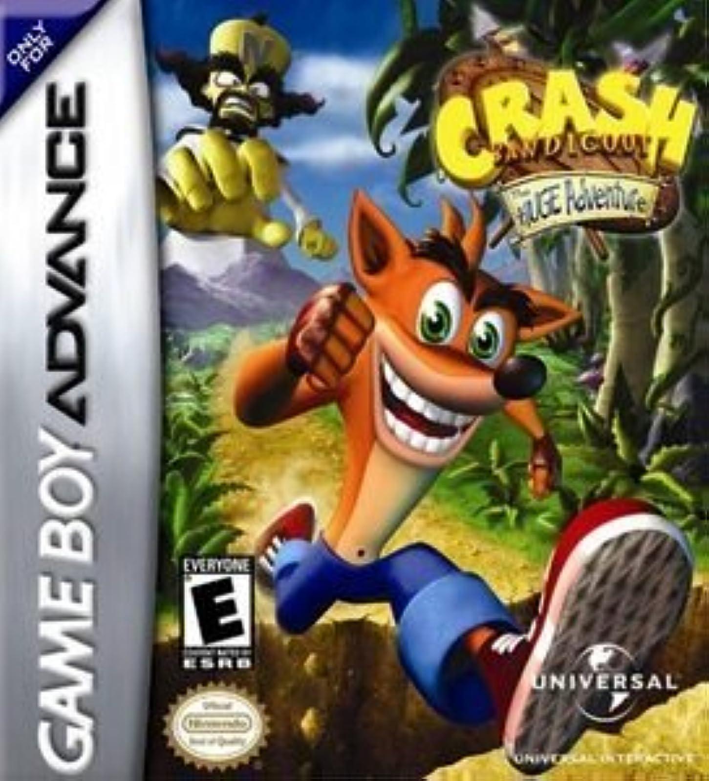 Crash Bandicoot: The Huge Adventure For GBA Gameboy Advance