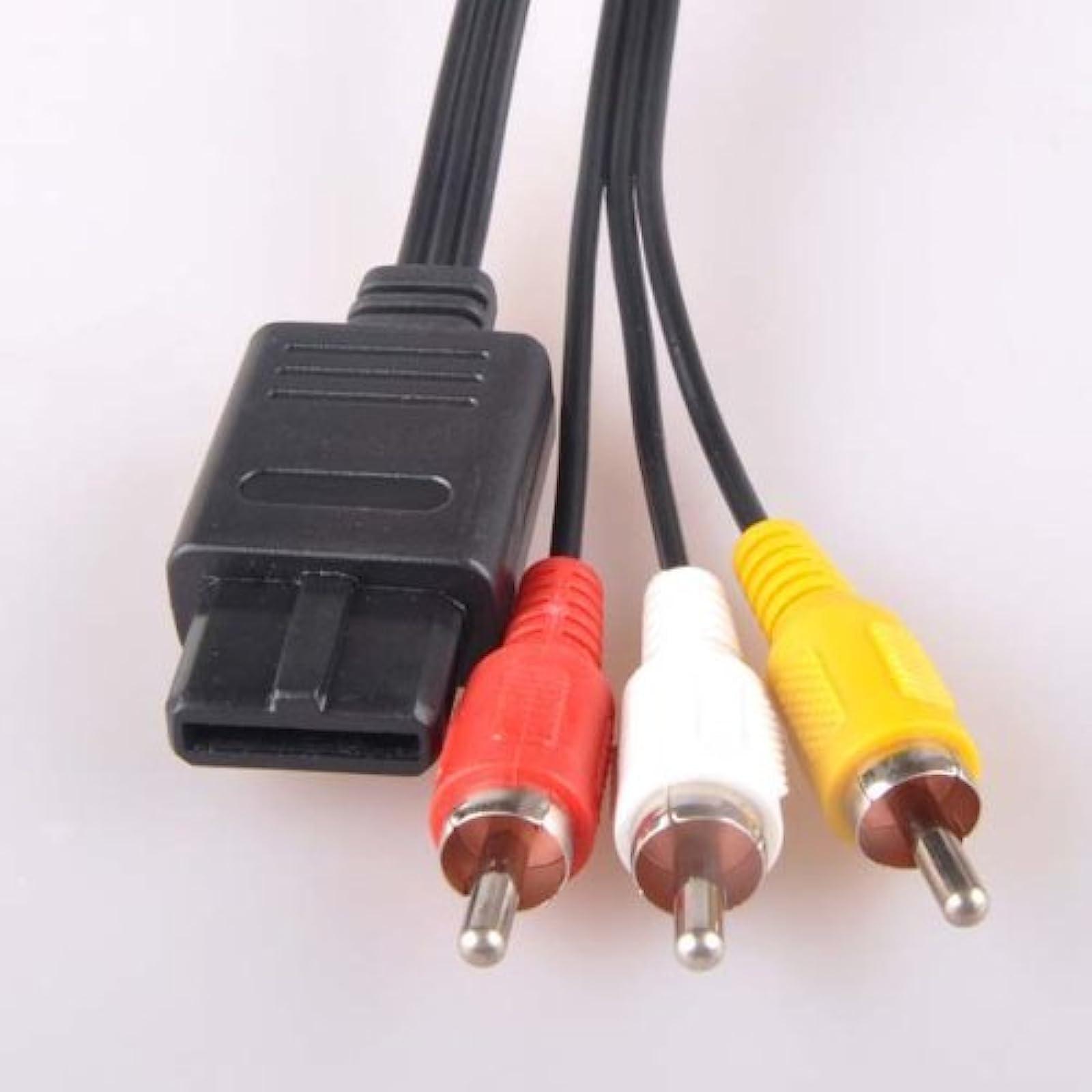 AV Cable For Nintendo GameCube SNES GC N64 Cord