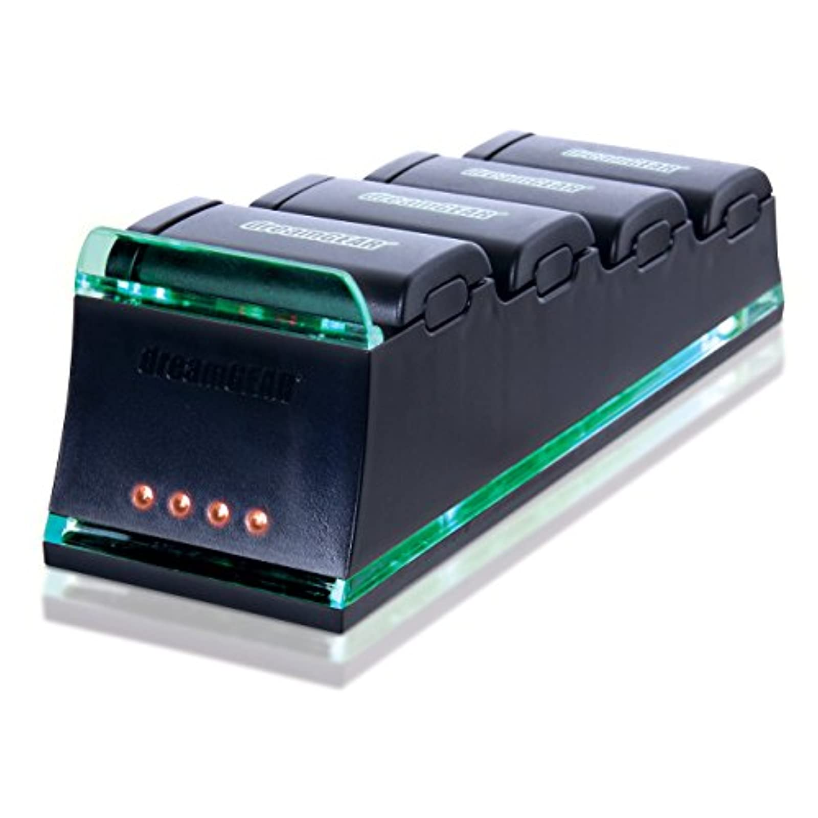 Dreamgear Quad Dock Pro Batteries Sold Separate For Xbox 360