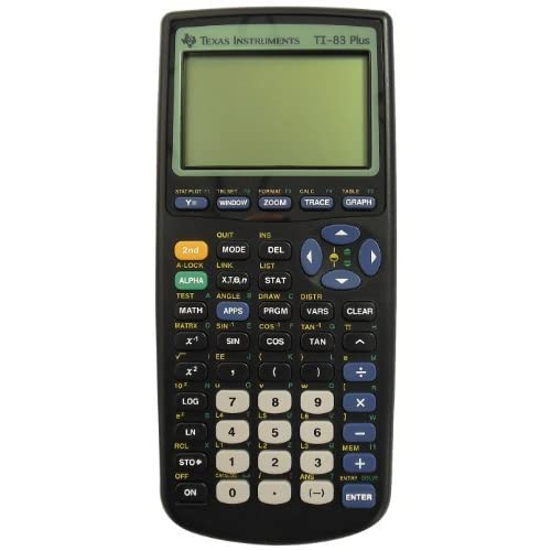 Consumer Electronic Products Texas Instruments TI-83 Plus Graphing Calculator Su