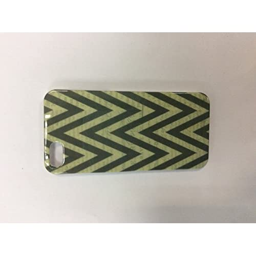 Image 0 of iConcepts Hardshell Case For iPhone 5 5S SE Zigzag Design Grey Cover