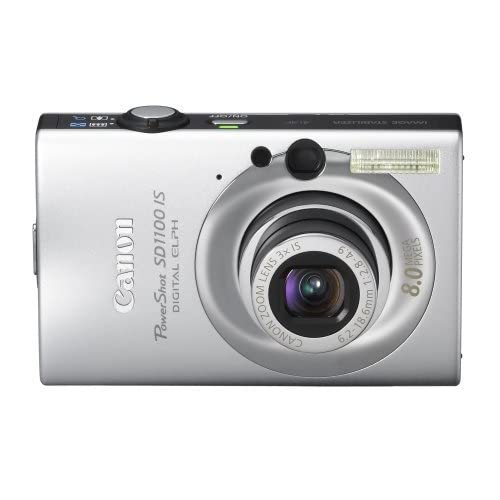Canon Powershot SD1100IS 8MP Digital Camera With 3X Optical Image Stabilized Zoo