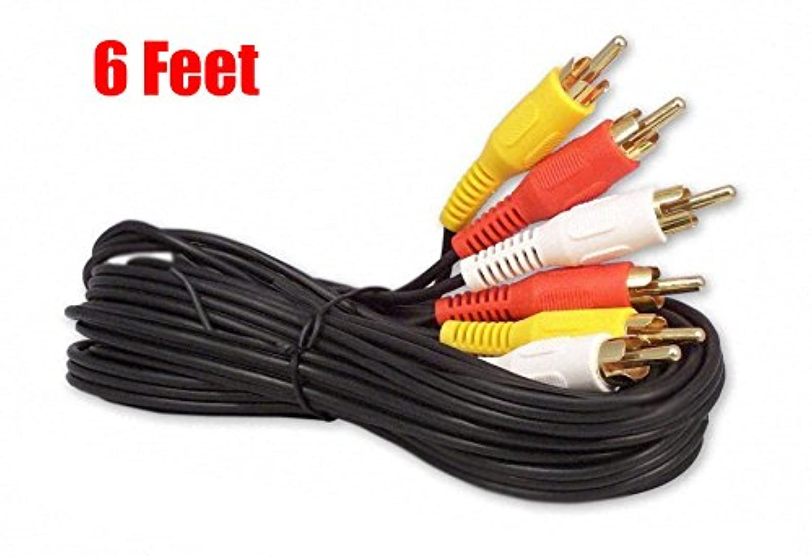 6FT RCA Audio/video Cable Audio Video RCA Cable 6FT