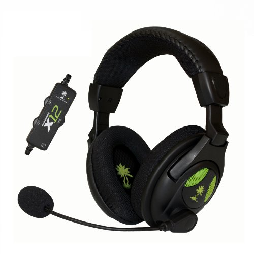 Image 0 of Turtle Beach Ear Force X12 Amplified Stereo Gaming Headset For Xbox 360 Micropho