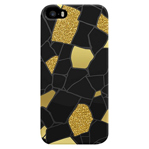 AGENT18 Cell Phone Case For iPhone 5 5S SE Glitter Stones Cover Multi