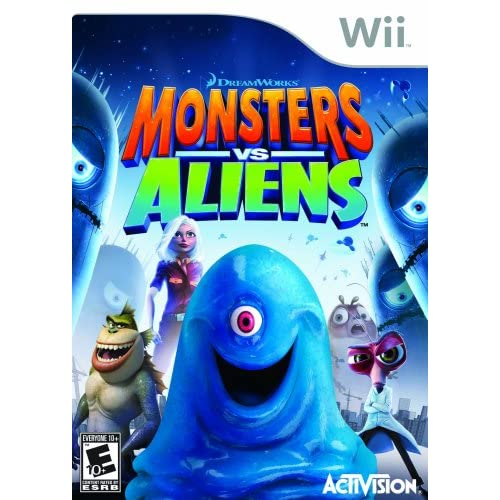 Monsters Vs Aliens For Wii And Wii U