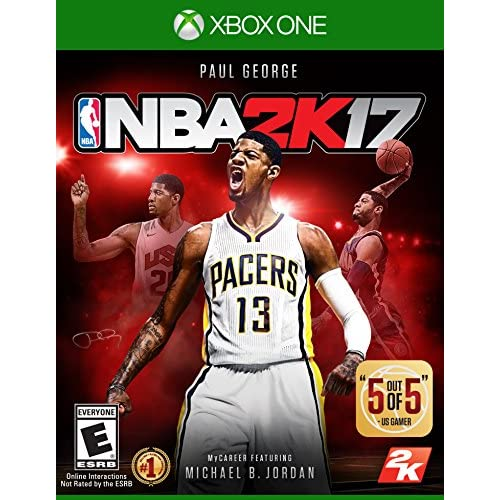 NBA 2K17 Standard Edition For Xbox One Basketball