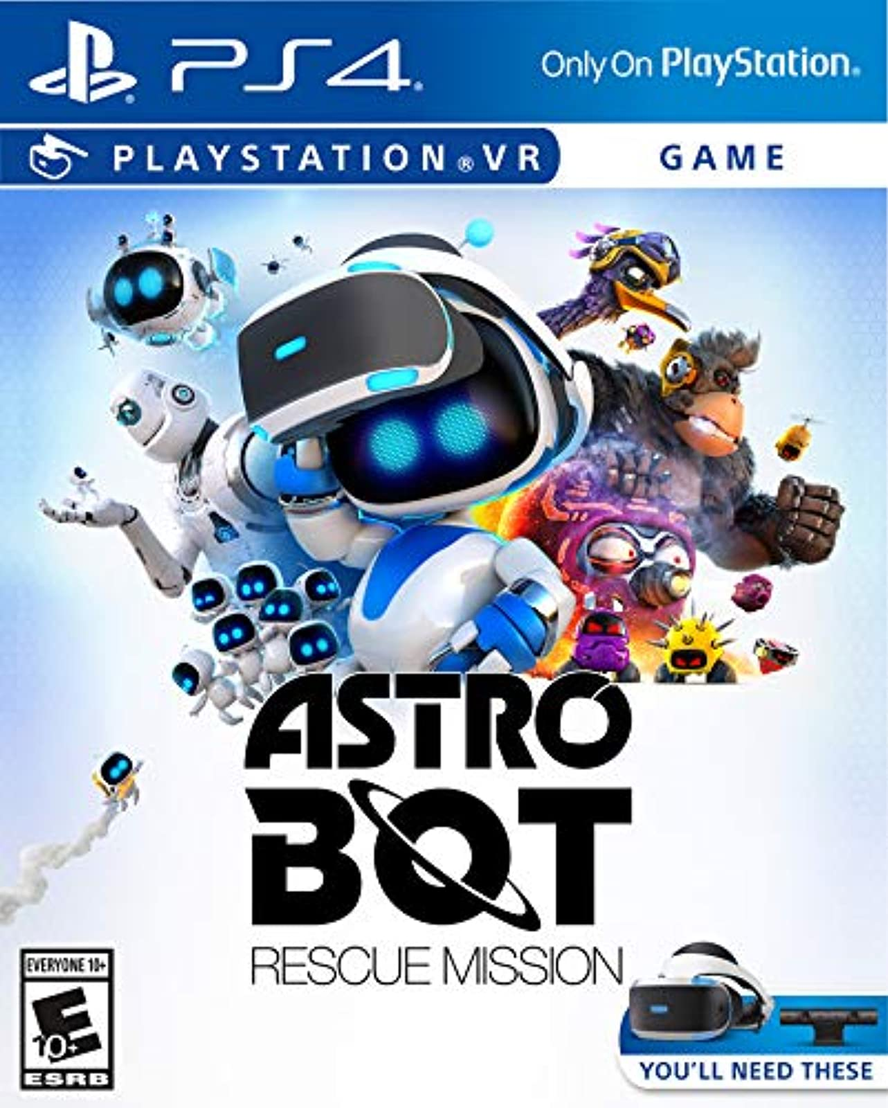 Astro Bot Rescue Mission PlayStation VR For PlayStation 4 PS4 PS5