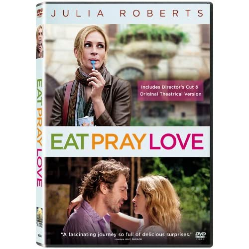 Eat Pray Love On DVD With Julia Roberts