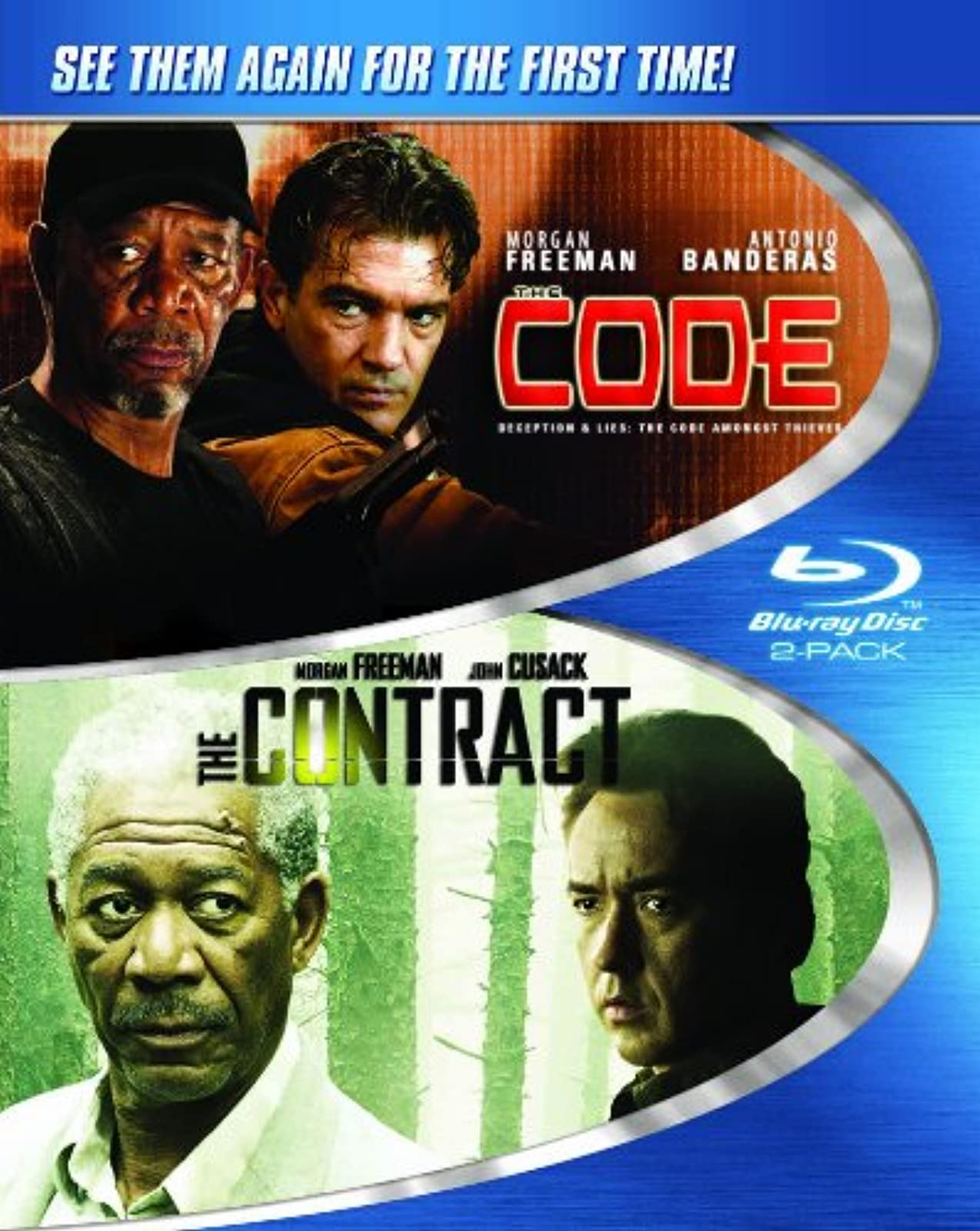Code And The Contract On Blu-Ray With Morgan Freeman