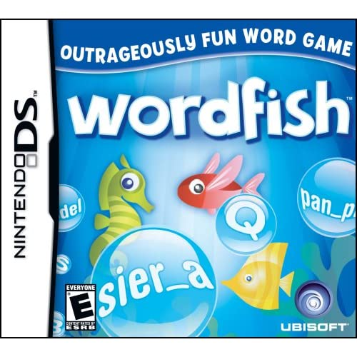 Wordfish For Nintendo DS DSi 3DS 2DS Trivia
