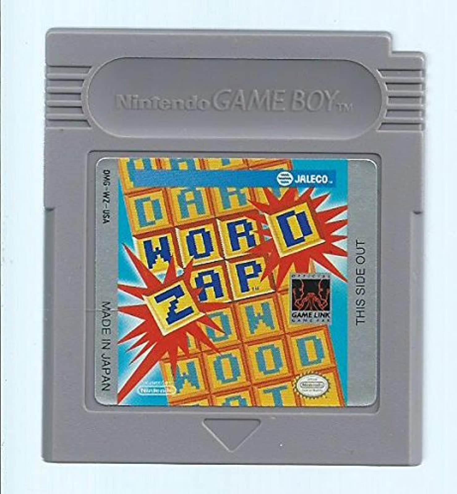 Word Zap For Board Games On Gameboy