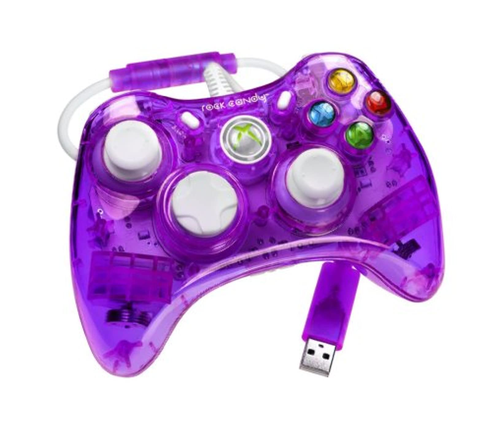 Rock Candy Controller Purple For Xbox 360 Gamepad PL-3760