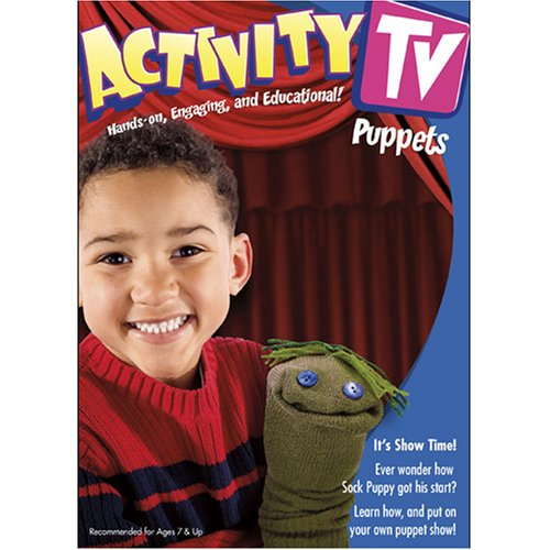 Image 0 of ActivityTV Fun With Puppets V.1 On DVD With Educational Activities