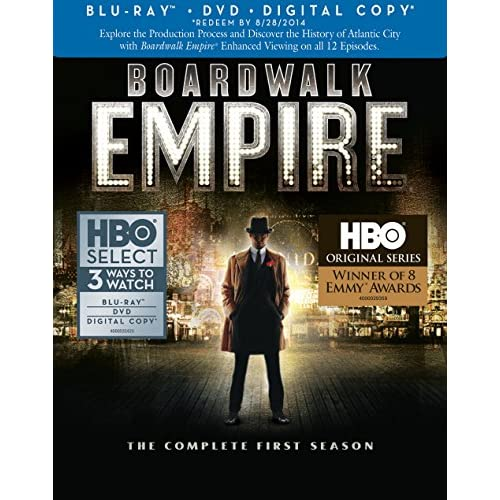 Boardwalk Empire: Complete First Season Blu-Ray/dvd Combo On Blu-Ray With Steve