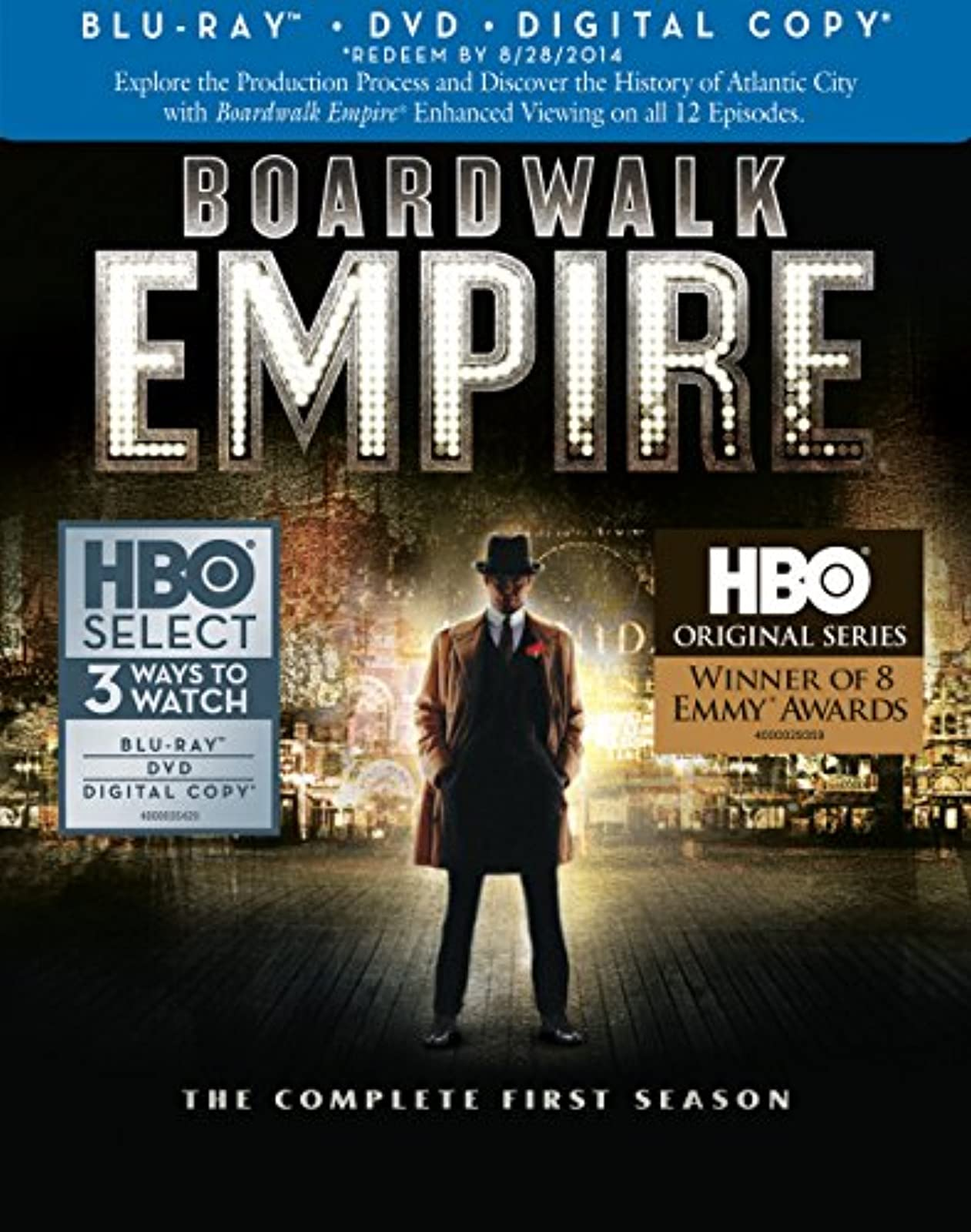 Boardwalk Empire: Complete First Season Combo On Blu-Ray With Steve Buscemi Dram