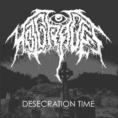 Desecration Time On Vinyl Record By Hot Graves