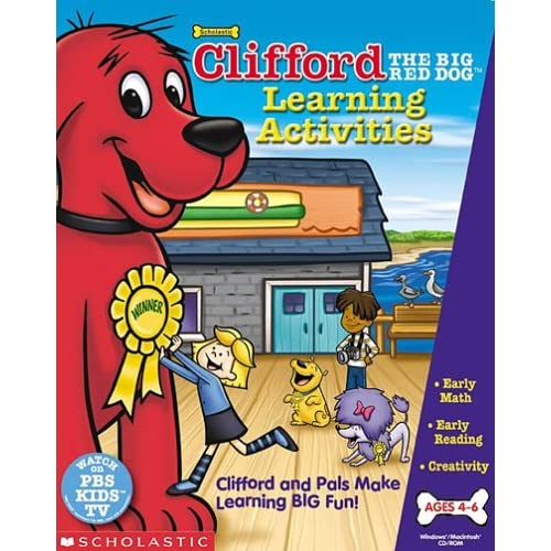Clifford The Big Red Dog Learning Activities Software