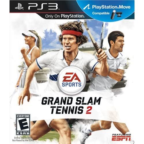 Grand Slam Tennis 2 For PlayStation 3