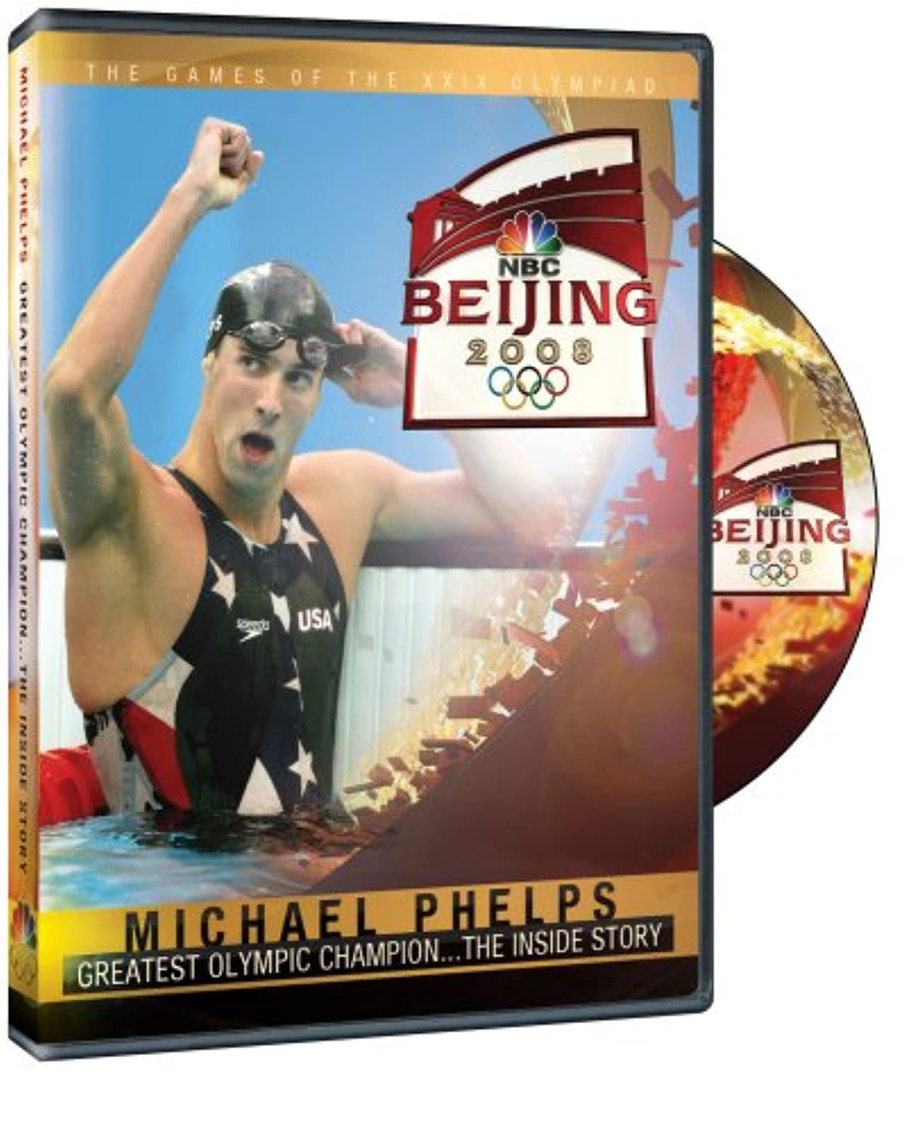 2008 Olympics: Michael Phelps Inside Story Of The Beijing Games On DVD