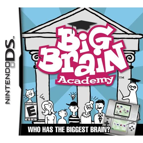 Big Brain Academy For Nintendo DS DSi 3DS 2DS Puzzle Games