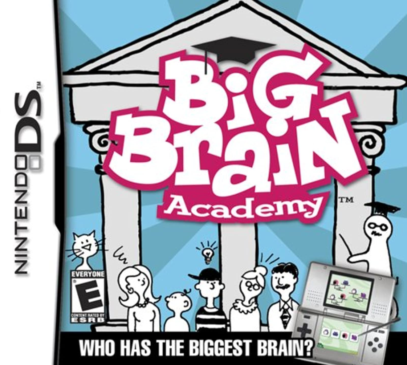 Big Brain Academy For Nintendo DS DSi 3DS 2DS Puzzle Games