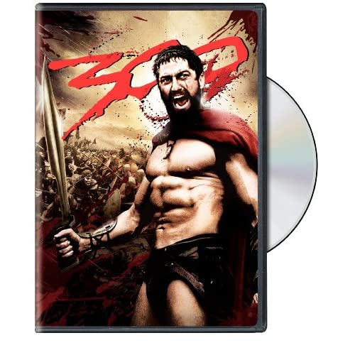 300 Full Screen Edition On DVD With Gerard Butler Anime