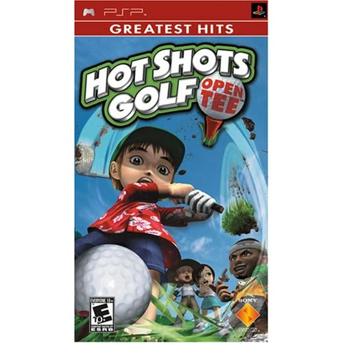 Hot Shots Golf Open Tee Sony For PSP UMD