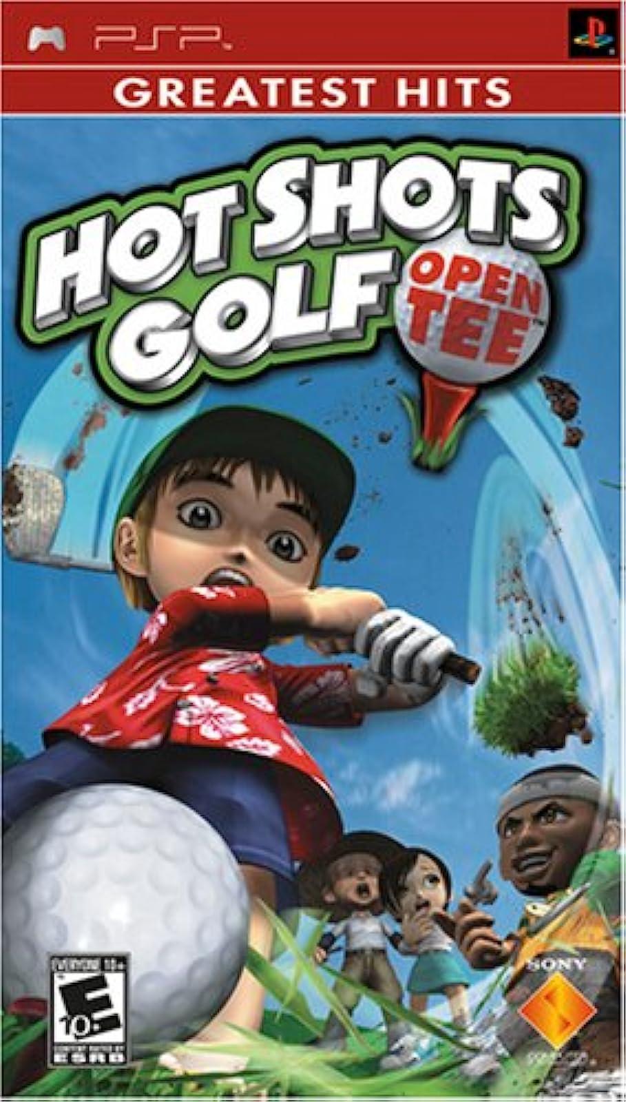 Hot Shots Golf Open Tee Sony For PSP UMD