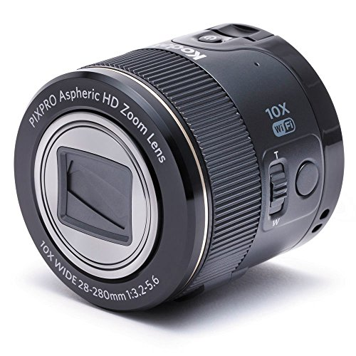 Kodak Pixpro SL10 Smart Lens Digital Camera Module For Smartphones Black Fisheye