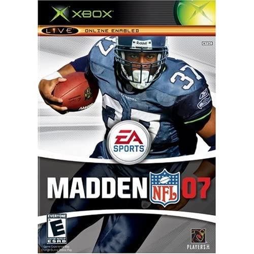 Madden NFL 07 Xbox For Xbox Original Football
