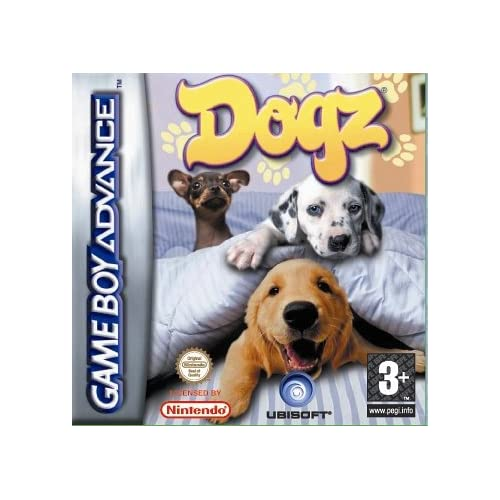 Dogz GBA For GBA Gameboy Advance