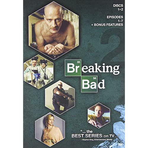 Image 2 of Breaking Bad: Season 2 On DVD With Bryan Cranston TV Shows