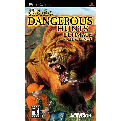 Image 0 of Cabela's Dangerous Hunts Ultimate Challenge Sony For PSP UMD