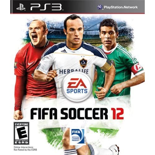FIFA Soccer 12 For PlayStation 3 PS3