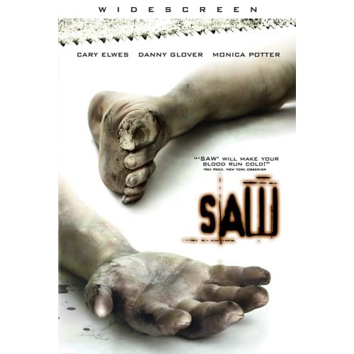 Image 0 of Saw On DVD With Cary Elwes Horror