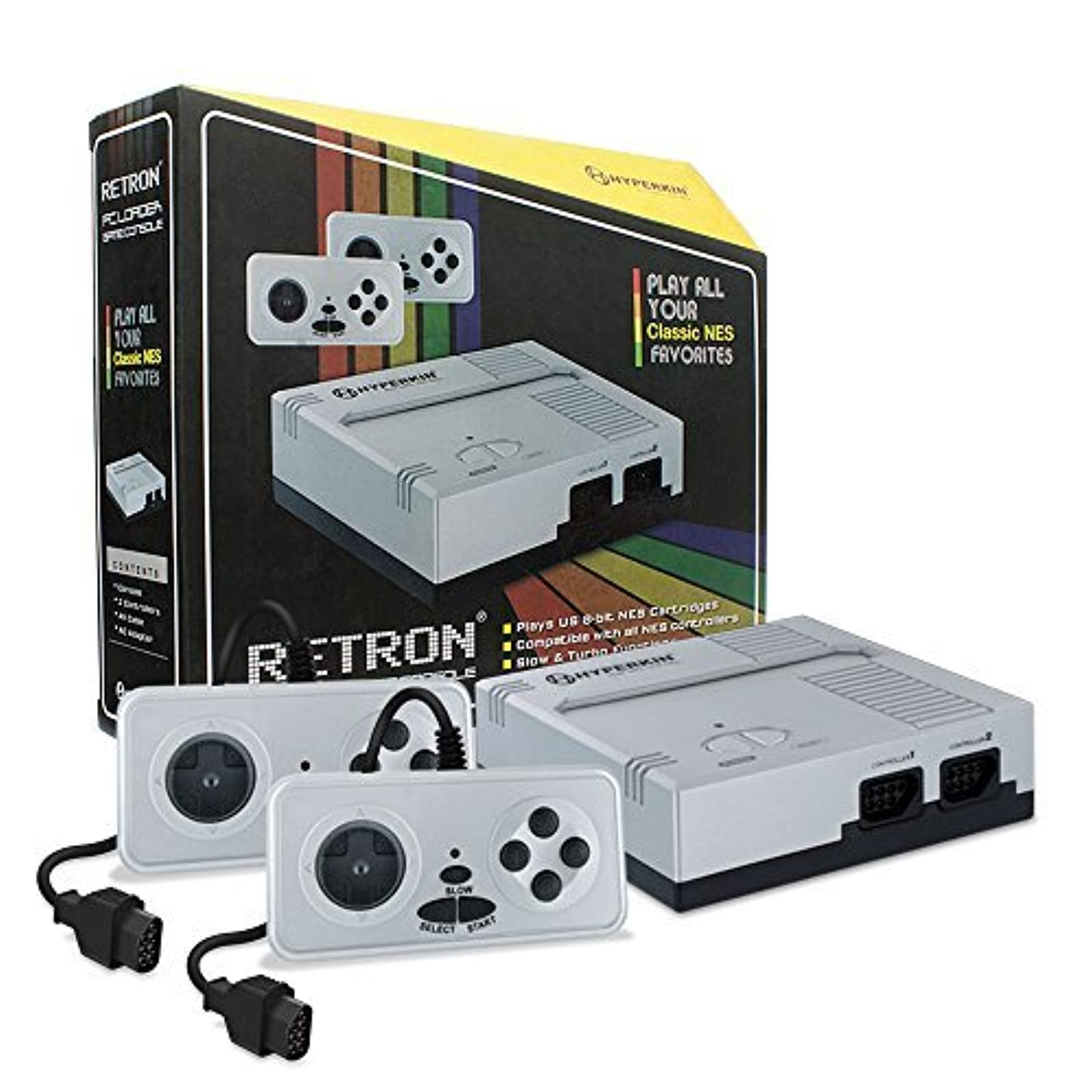 Hyperkin Retron 1 Gaming Console For NES Silver