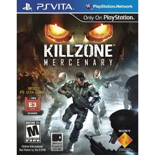 Killzone Mercenary For Ps Vita