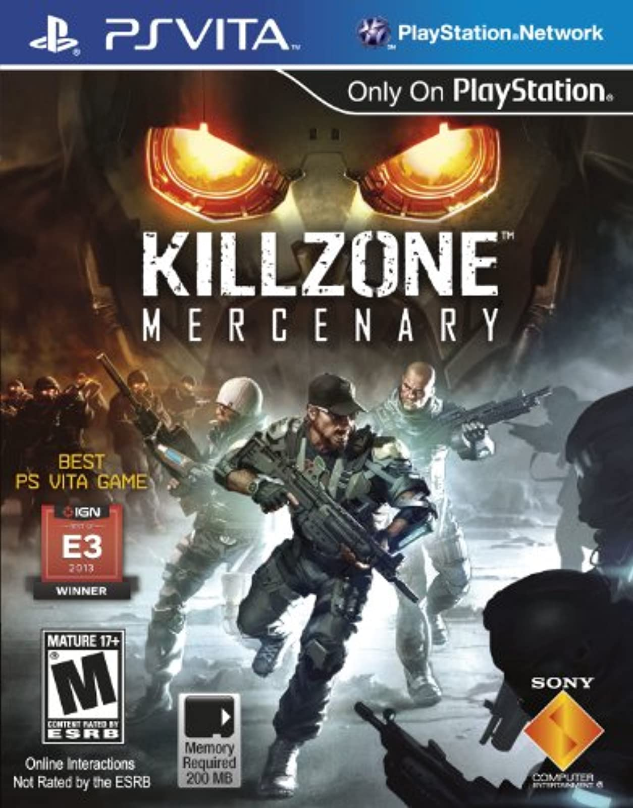 Killzone Mercenary For Ps Vita