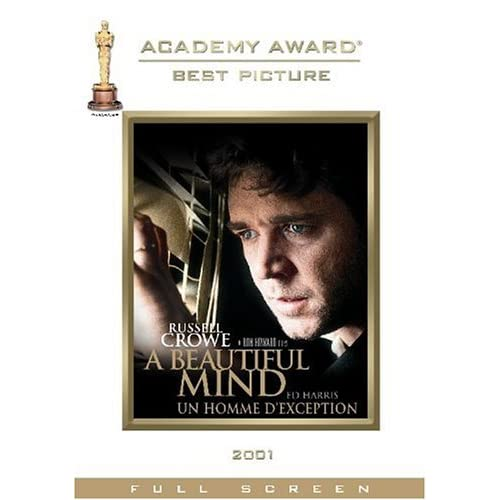 A Beautiful Mind Two-Disc Awards Edition On DVD With Russell Crowe 2