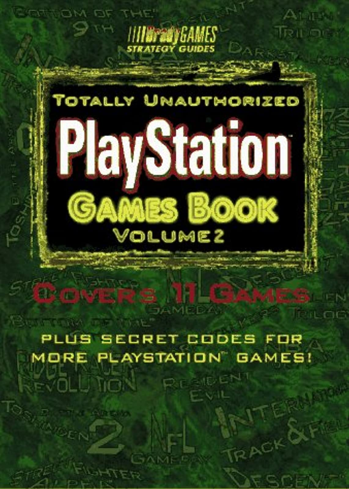 PlayStation Games Guide Volume 2 Bradygames Vol 2 Strategy Guide