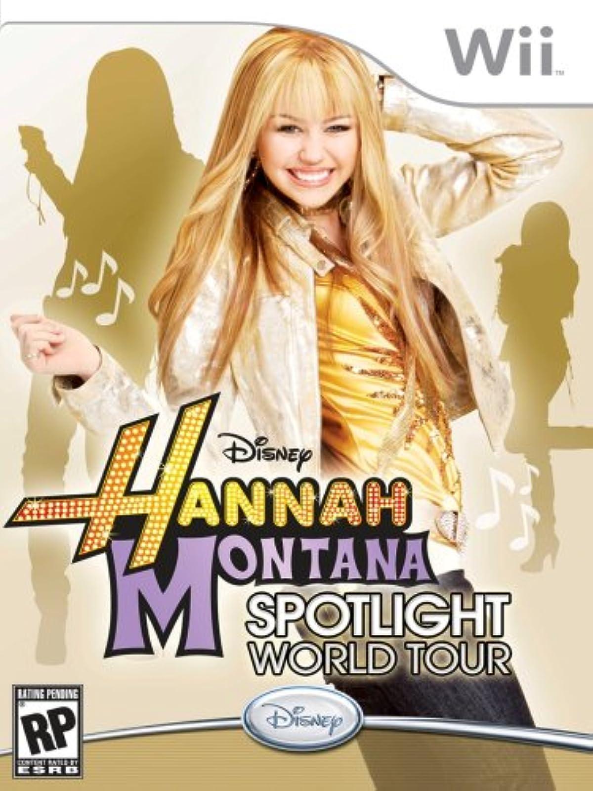 Hannah Montana: Spotlight World Tour For Wii And Wii U
